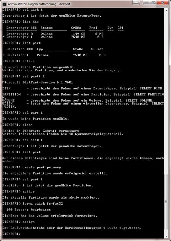 windows 7 fehlermeldungen liste